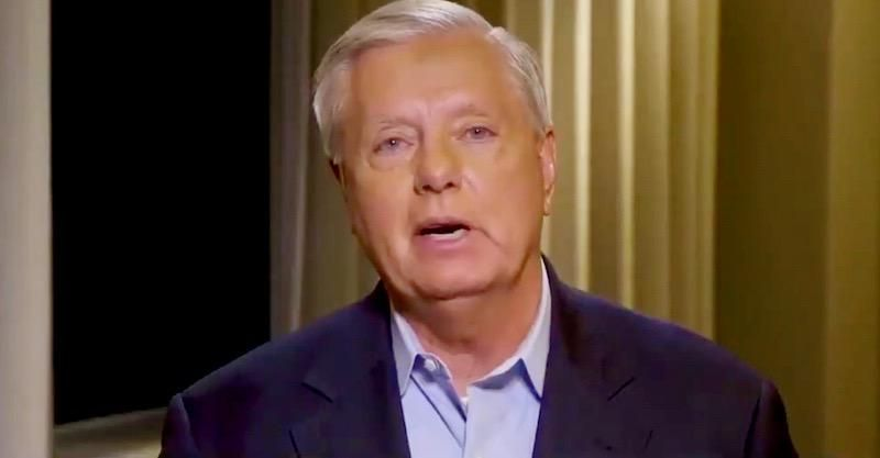 Lindsey Graham rants about '40,000 Brazilians' with 'Gucci bags' heading for Connecticut