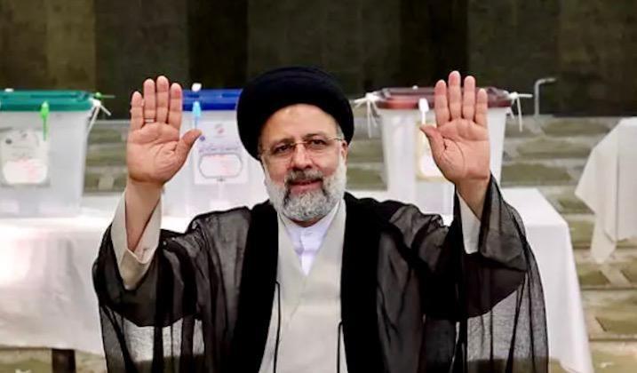 Ultraconservative Ebrahim Raisi succeeds reformist Rouhani as Iran's president