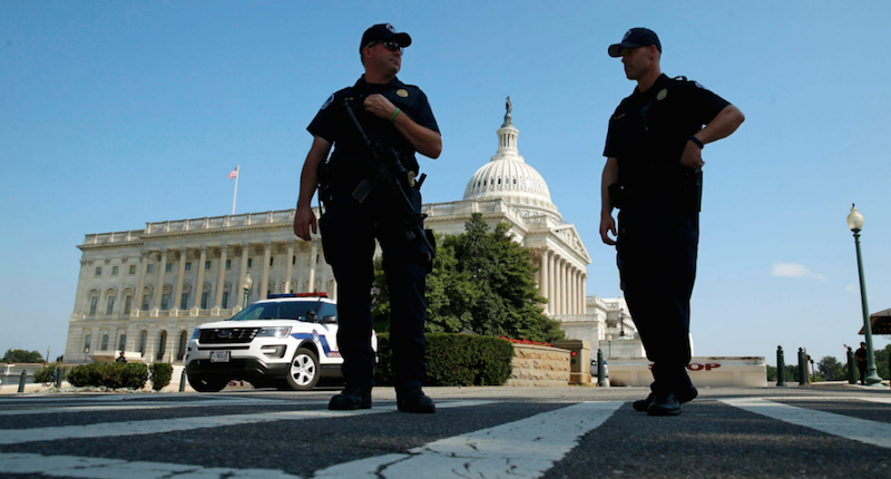 Police departments are resisting efforts to crack down on cops with ties to extremist groups: NYT