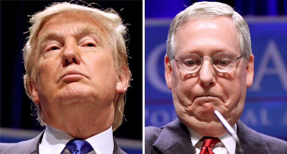 GOP strategist laughs off Trump's effort to 'depose' McConnell: He 'never has a plan'