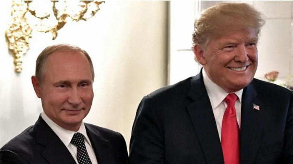 Fiona Hill feared Putin selected a 'very attractive' brunette as his translator to 'distract' Trump at meeting: book