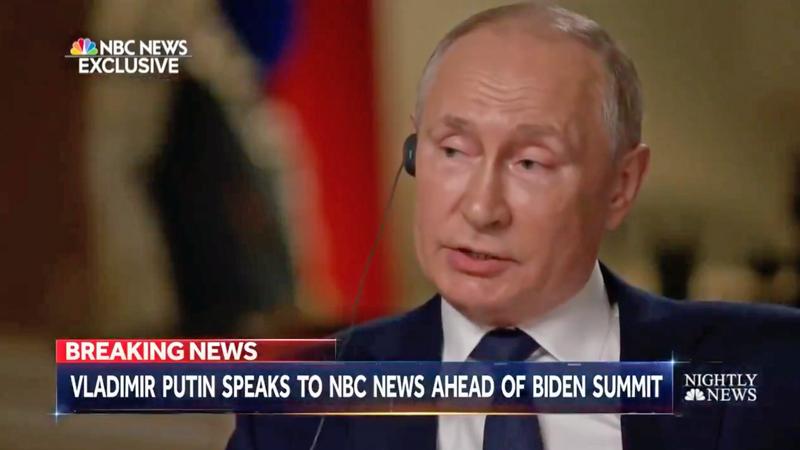 Putin lavishes praise on Trump ahead of first summit with Biden