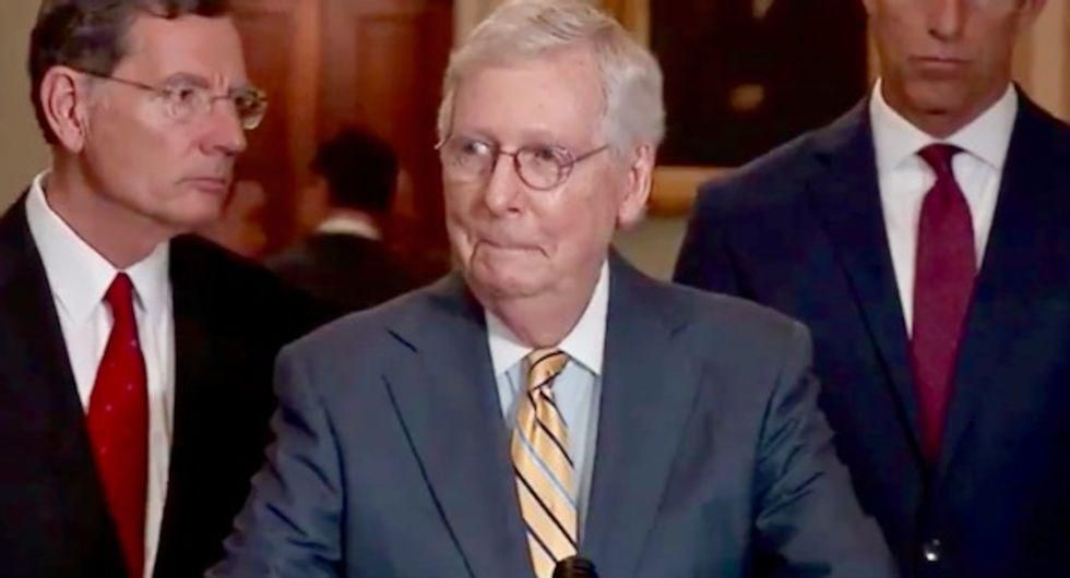 McConnell and other Republicans gathered to laugh at Trump being called a 'moron' by Rex Tillerson: book