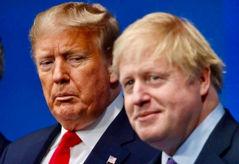 Trump and Boris Johnson had bizarre talk about the strength of kangaroos that went for 'considerable length': book
