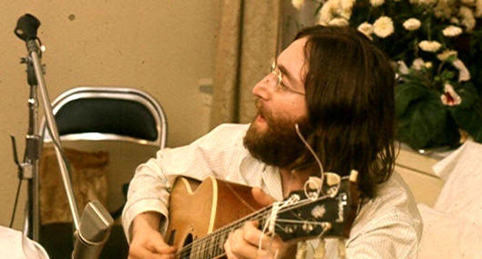 Never released John Lennon recording goes on sale in Denmark