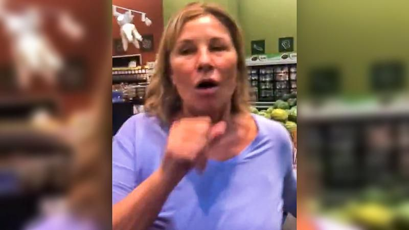 Video catches Covid-denier coughing on shoppers in Nebraska grocery store